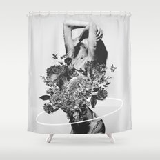 Be Slowly Shower Curtain
