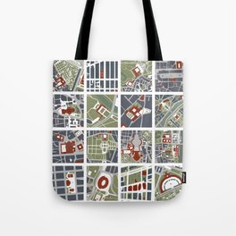 Urban fragments I of NewYork, Paris, London, Berlin, Rome and Seville Tote Bag