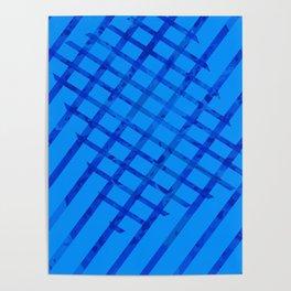 Diagonal abstract #2 Poster