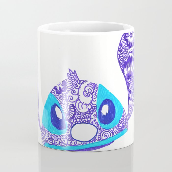 54  Henna STITCH for Easter Funny Face Coffee Mug