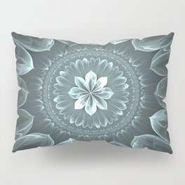 Blossom Within in Platinum Pillow Sham
