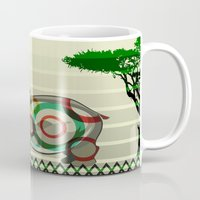 dreamer Mugs featuring Dreamer by milanova