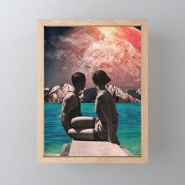 Utopian hope Framed Mini Art Print
