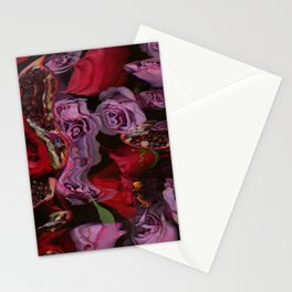Roses and Pomegranates Stationery Cards