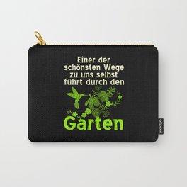 Gardener Gift Idea Garden Designs Carry-All Pouch