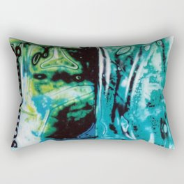 Out of the Blue Rectangular Pillow