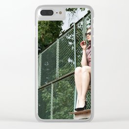 Game On! Clear iPhone Case
