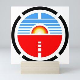 Saturn 3 Logo Mini Art Print
