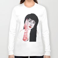 russian Long Sleeve T-shirts featuring Russian Doll by scoobtoobins