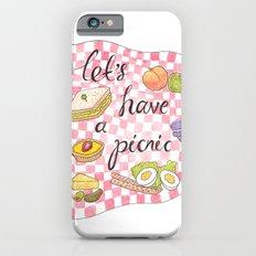 Let's Have A Picnic Slim Case iPhone 6s