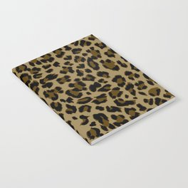 Leopard Print Pattern Notebook