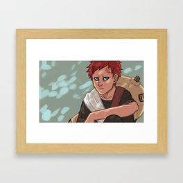 Sand Boy Framed Art Print