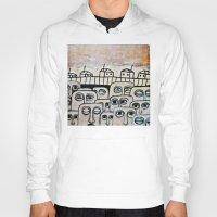 the neighbourhood Hoodies featuring Crowded neighbourhood by Kaelyn Saunders