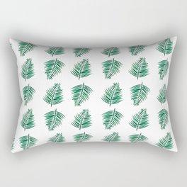 Areca Tropical Leaf Rectangular Pillow