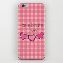 Celebrate Love! iPhone Skin