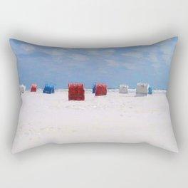 The storm has gone Rectangular Pillow