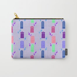 Playful Vintage Doors Carry-All Pouch