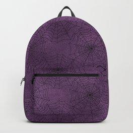 Cobweb Pattern Backpack