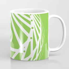 Radiant Abundance (green-white) Coffee Mug