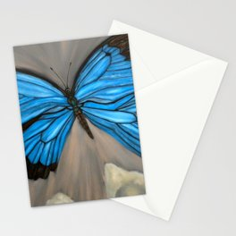 Ulysses Blue Butterfly Stationery Cards