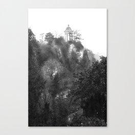 Temple of Sibyl, Paris Canvas Print