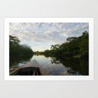 Amazon River Art Print