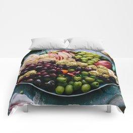 Beautiful Food by Brooke Lark Comforters