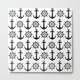 Anchors Aweigh 4 Metal Print