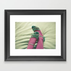 The End of the Night Framed Art Print