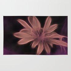 Psychedelic Flower Rug