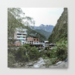 Aguas Calientes Metal Print