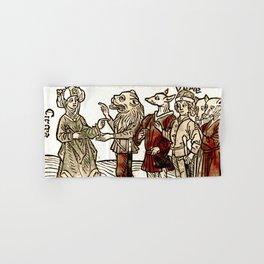 Circe in De claris mulieribus Hand & Bath Towel