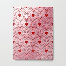 Heartbeat - Romantic - Valentines Day Metal Print