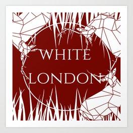 White London Art Print