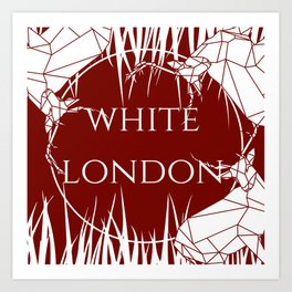 White London Art Print