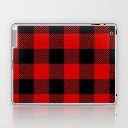 Red Lumberjack Pattern Laptop & iPad Skin