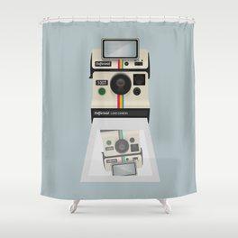 Selfieroid Shower Curtain