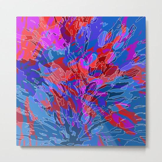 exploding coral Metal Print
