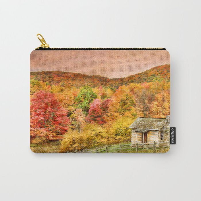 An Autumn View Carry-All Pouch