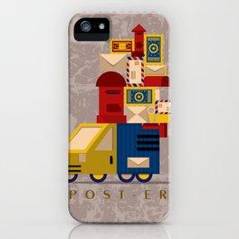 Postman's Post-er poster iPhone Case