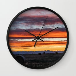 Gallatin Valley Wall Clock