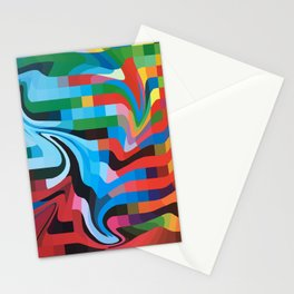PixelWave Stationery Cards