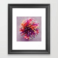 Cluster bir Framed Art Print