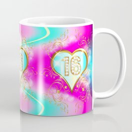 Sweet Blue 16 Coffee Mug
