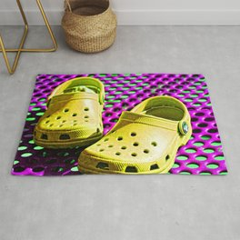 Pop Art Crocs By Sharon Cummings Rug