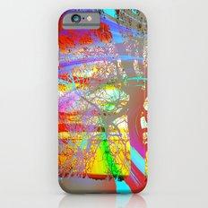 Rainbow Waves Slim Case iPhone 6s
