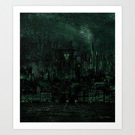 The Necropolis Art Print