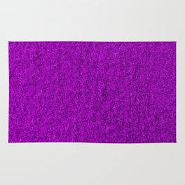 Lilac Fleecy Material Texture Rug