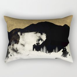 Winter Silence Rectangular Pillow