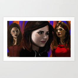The Impossible Girl Art Print